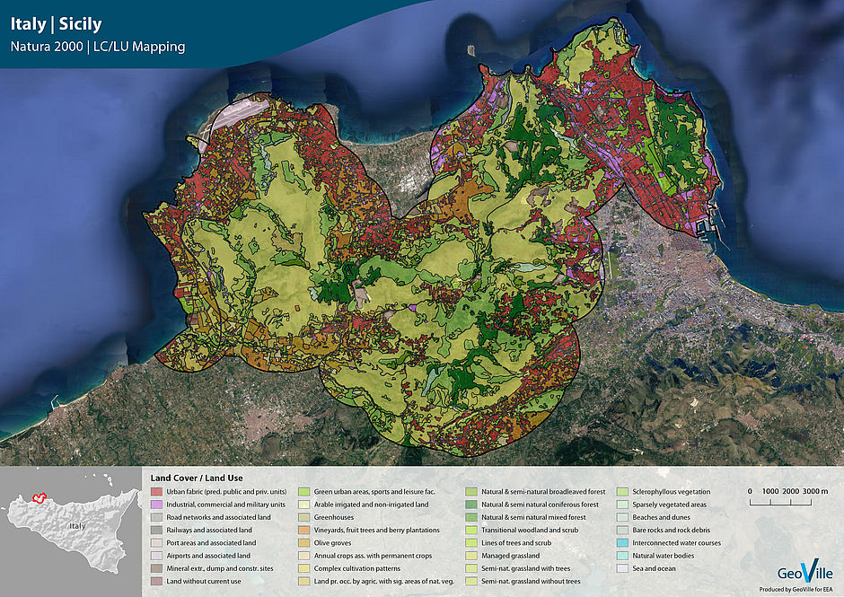 Extending the Copernicus Local Land Component