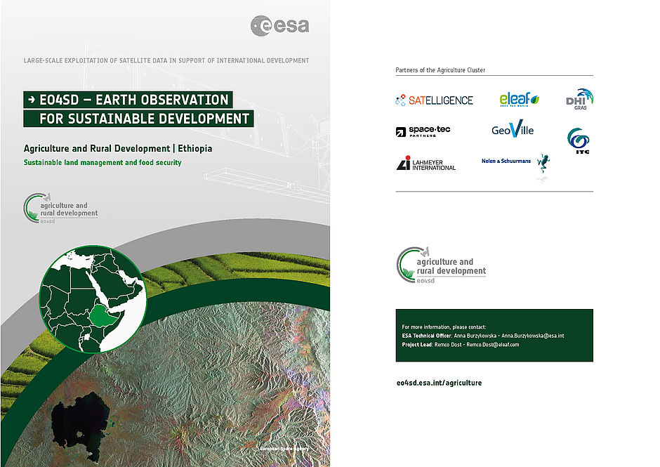 EO-based geo-information solutions to support agricultural monitoring